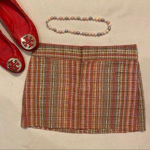 Alice + Olivia Multicolored Printed Mini Skirt